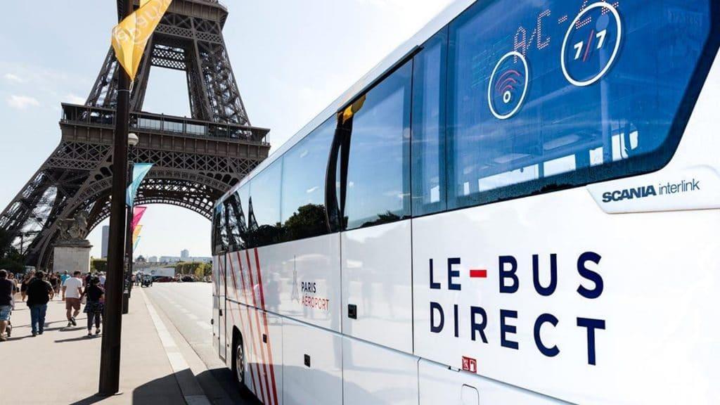 La navette de Paris aux aéroports «Le Bus Direct» ne va pas reprendre à la rentrée !