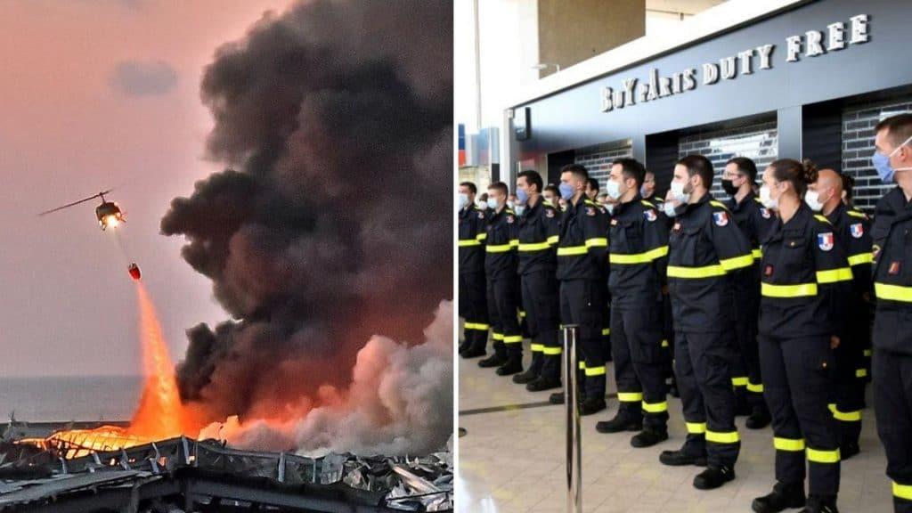 Paris envoie des pompiers et de l'aide humanitaire au Liban après les explosions dévastatrices du port de Beyrouth