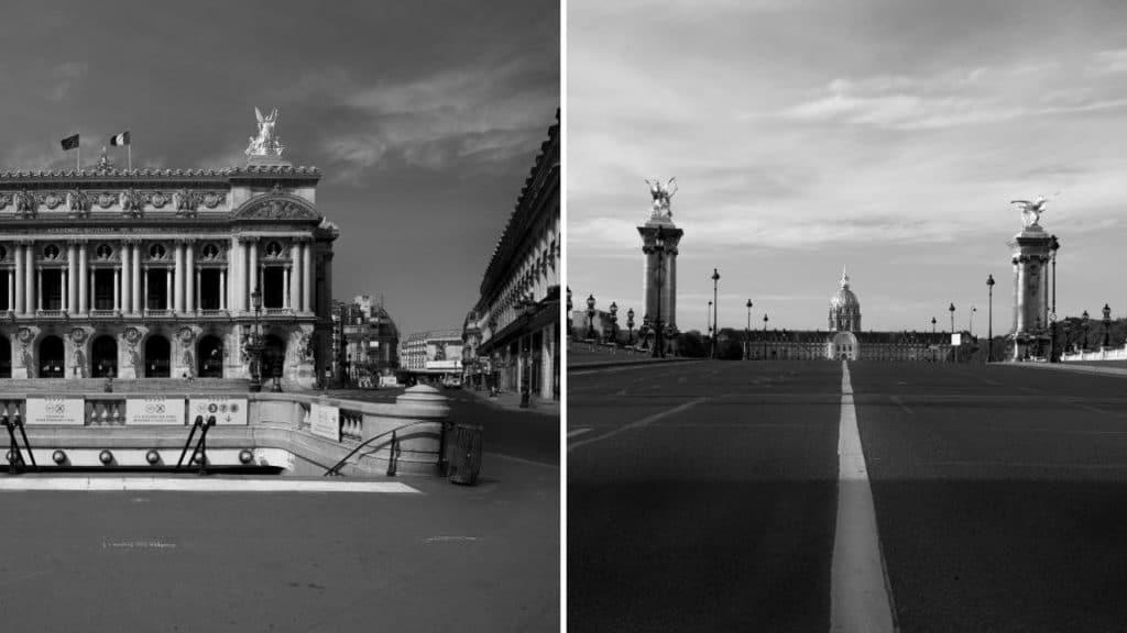 Confinement : Un livre de photographies de Paris confinée en édition limitée au profit de la Fondation Abbé Pierre !