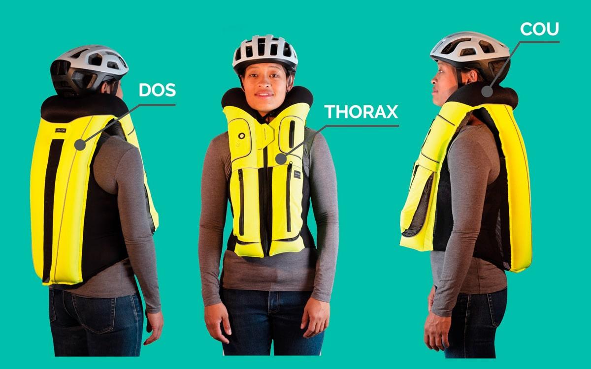 vélo-airbag b safe sécurité