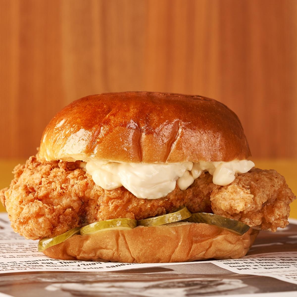 Pickled Chicken torpedo burger paris