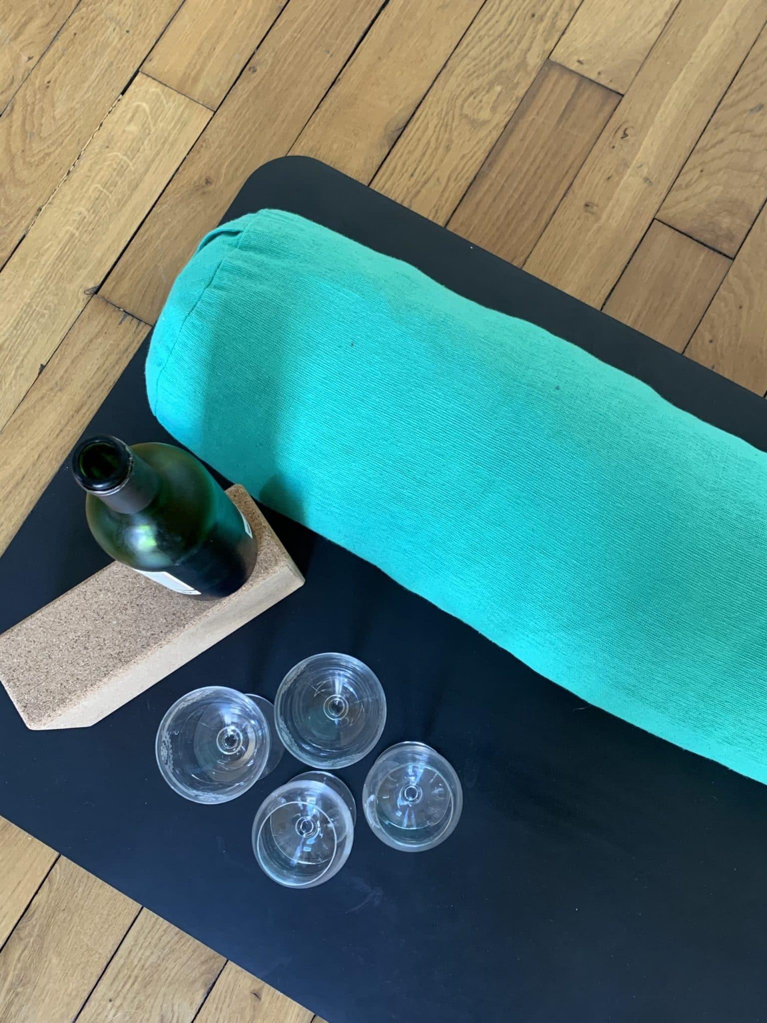 Yin & Wine paris yoga vin dégustation