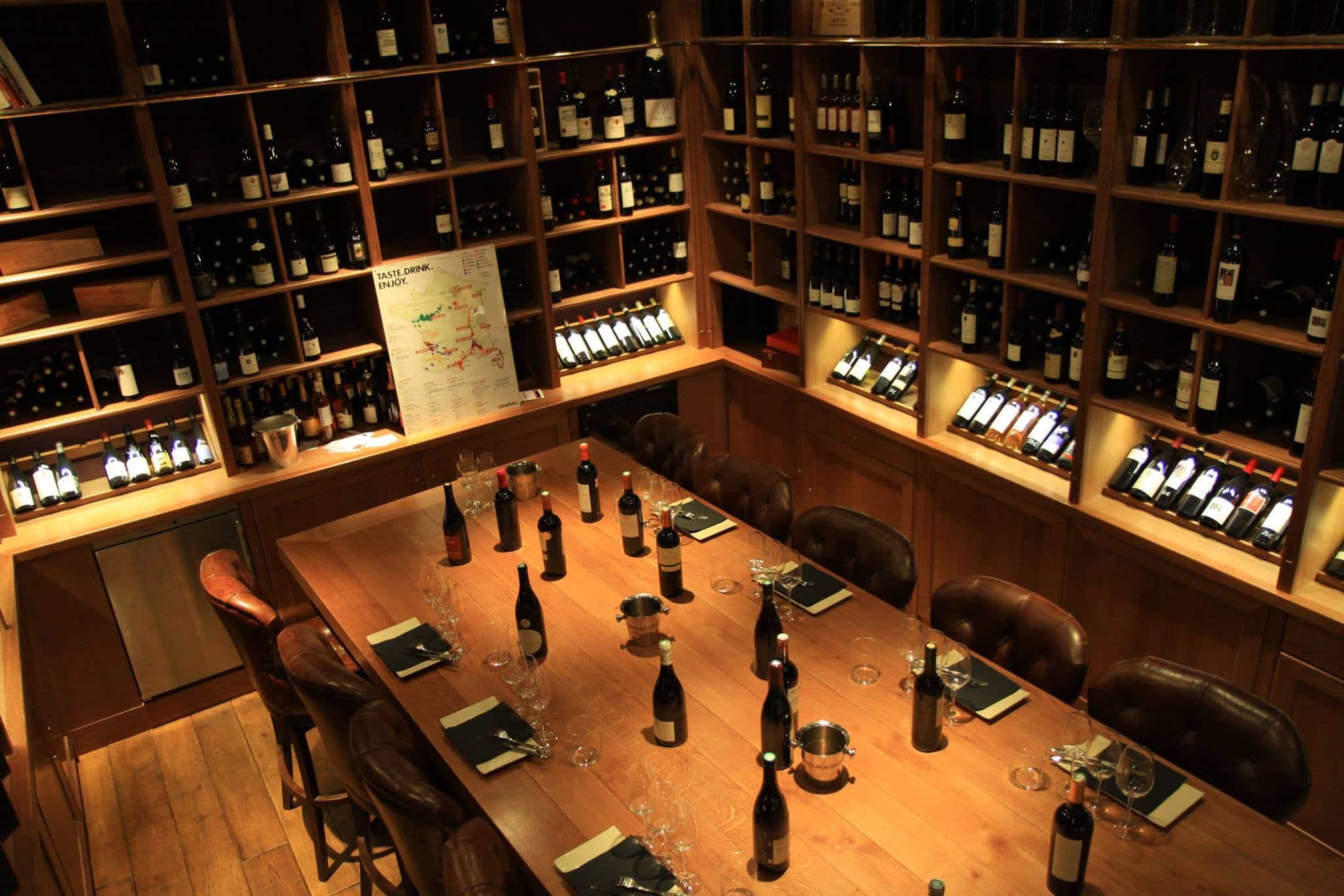 o chateau vin bar paris dégustation