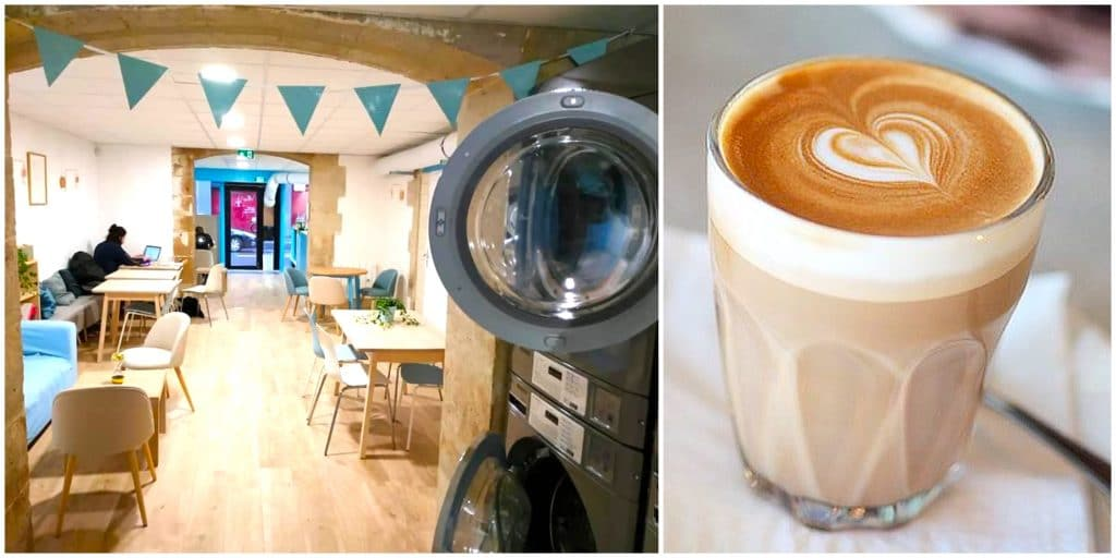 Insolite : le premier café-laverie a ouvert ses portes à Paris !