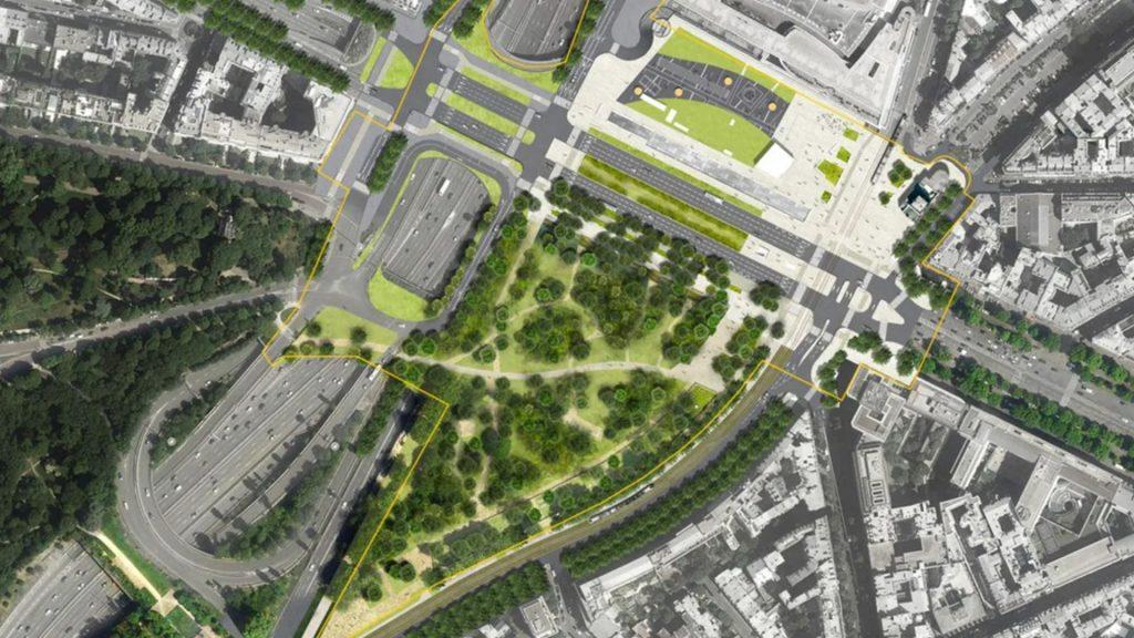 La Porte Maillot va-t-elle devenir une place végétalisée en 2021 ? Vous décidez !