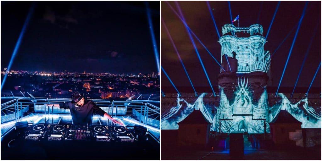 Un show électro monumental avec le DJ Michael Canitrot débarque au château de Vincennes !