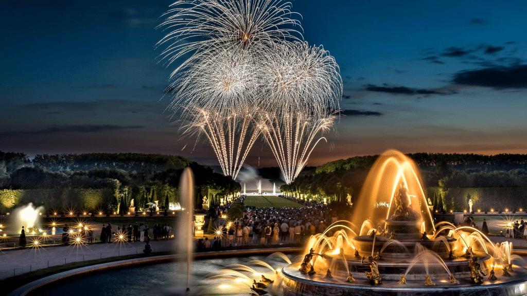 Grandes Eaux Nocturnes Château de Versailles