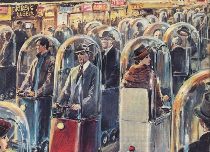 Parue en 1962 l'illustration de Walter Molino aurait-elle prédit la crise sanitaire ?