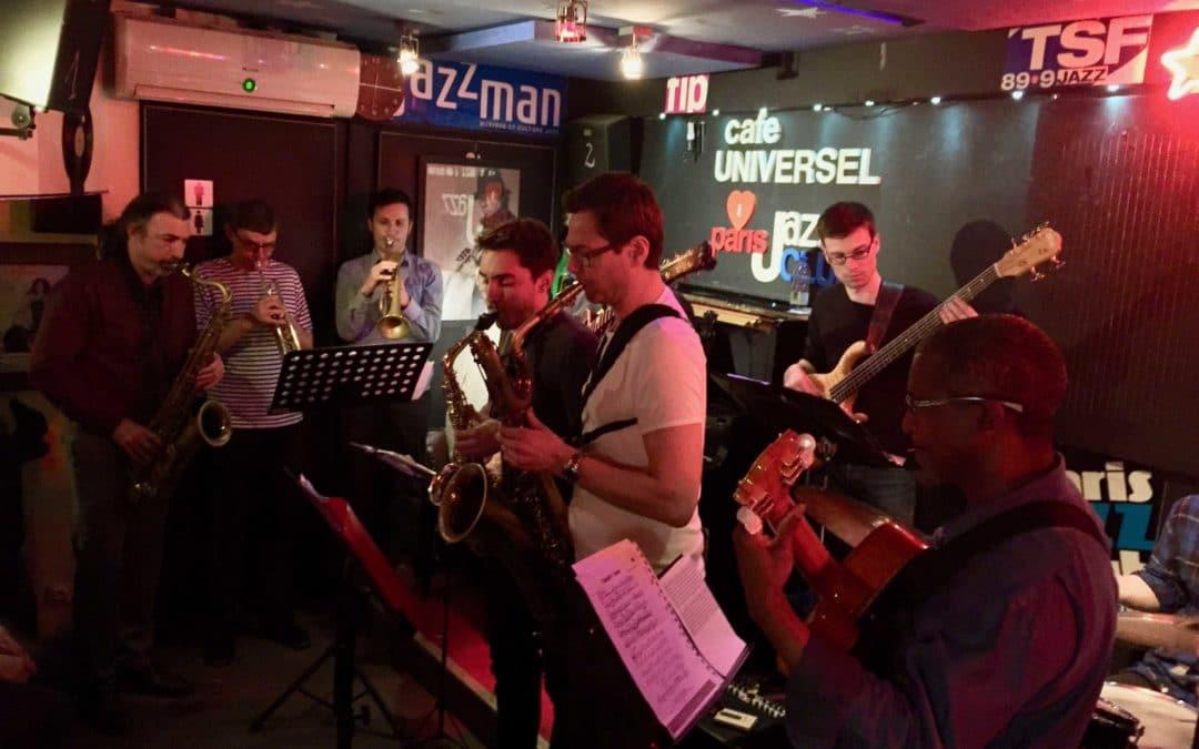 Café-Universel jazz club paris