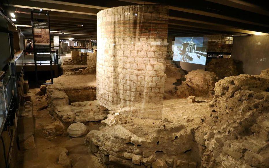 crypte archéologique paris parvis notre dame exposition