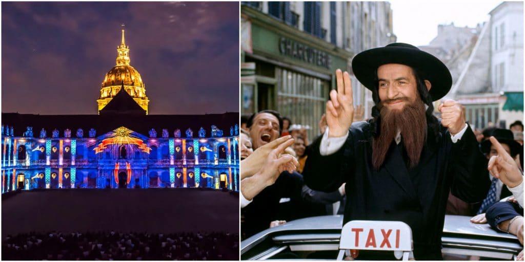 Un cinéma en plein air GRATUIT débarque aux Invalides et projette «Les aventures de Rabbi Jacob» !