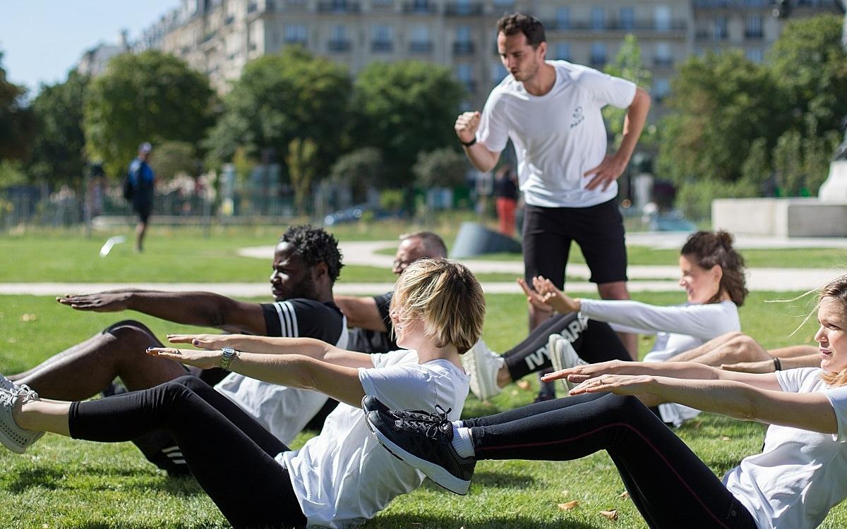 cours de sport gratuit parc paris dimanche