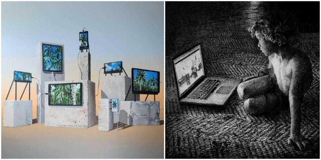 Paris : «Nos vies numériques», la nouvelle exposition coup de poing sur l'addiction aux réseaux sociaux !