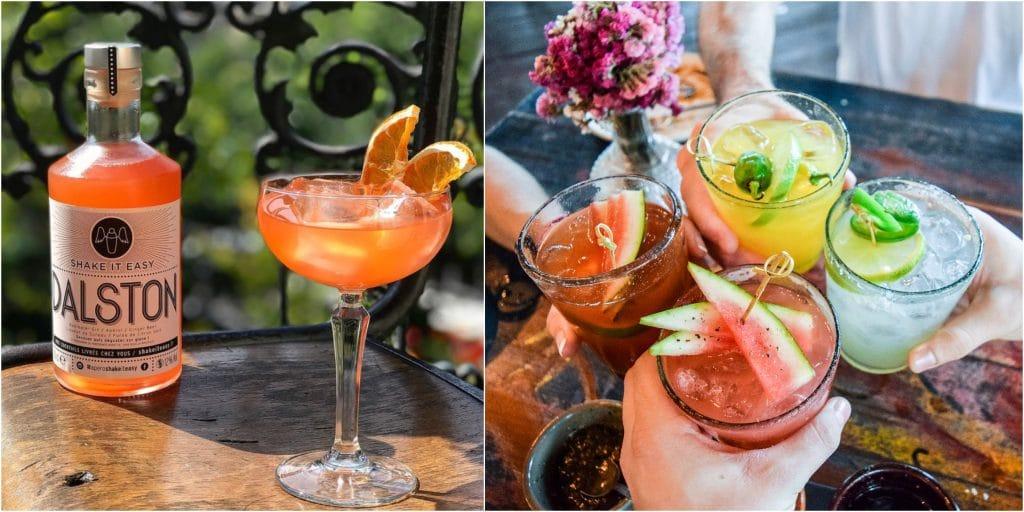 La pépite du moment : des cocktails création de folie livrés chez vous en 30 minutes !