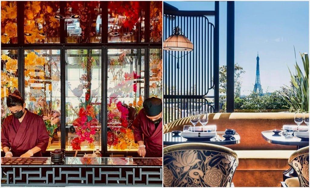 MUN nouveau resto asiatique rooftop Paris Champs Elysées été 2021