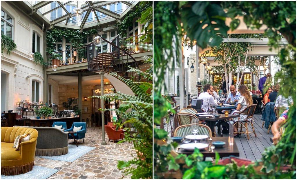 Terrasses bucoliques de bars & restos où on a hâte de se poser en mai Paris