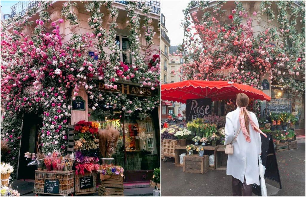 Deschamps plus beau fleuriste Paris