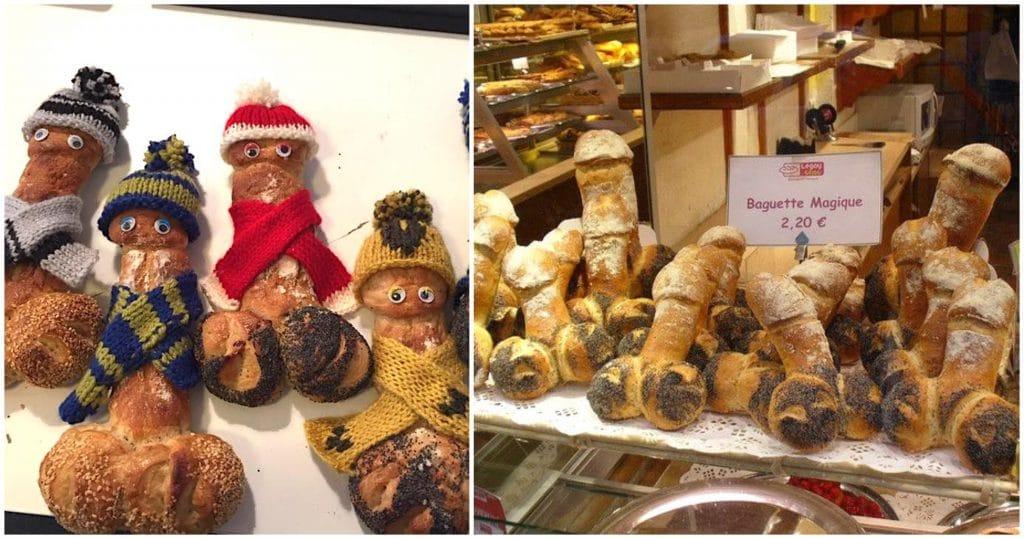 Le Marais Legay Choc boulangerie baguette zizi Noël