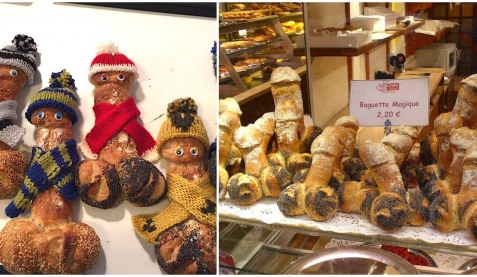 Insolite : la Boulangerie coquine Legay Choc dans le Marais !