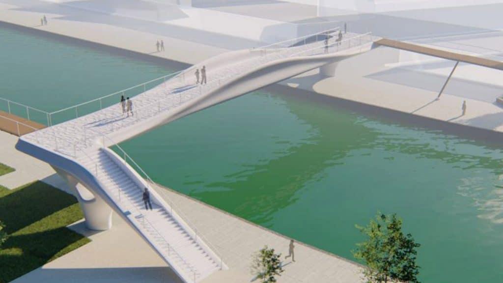 Le premier pont imprimé en 3D à Paris arrive pour les JO de 2024 !