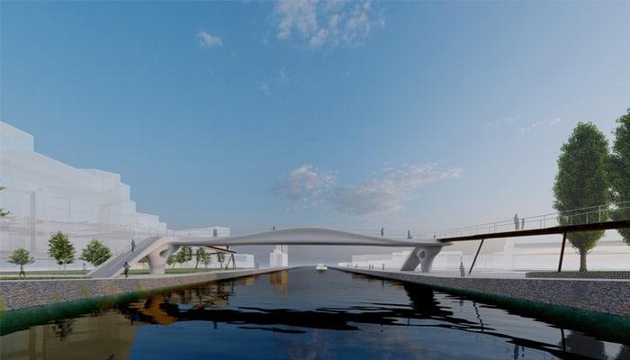 xtreee paris jeux olympiques 2024 pont 3D
