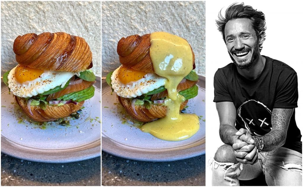 Paris : le meilleur Chef pâtissier du monde Cédric Grolet crée un croissant Bénédicte !