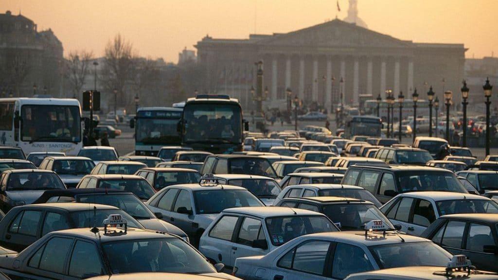 embouteillage paris bouchons étude transports classement