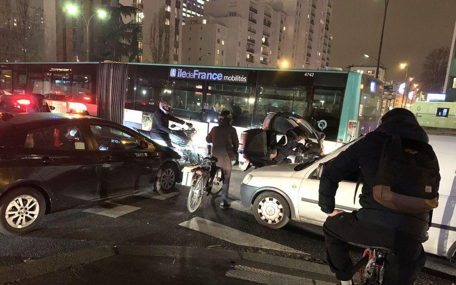 bouchons paris transports classement bus voiture vélo