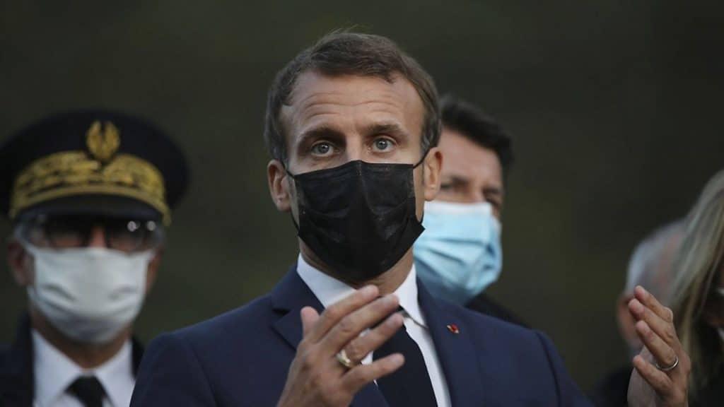 emmanuel macron covid coronavirus annonce france paris couvre feu