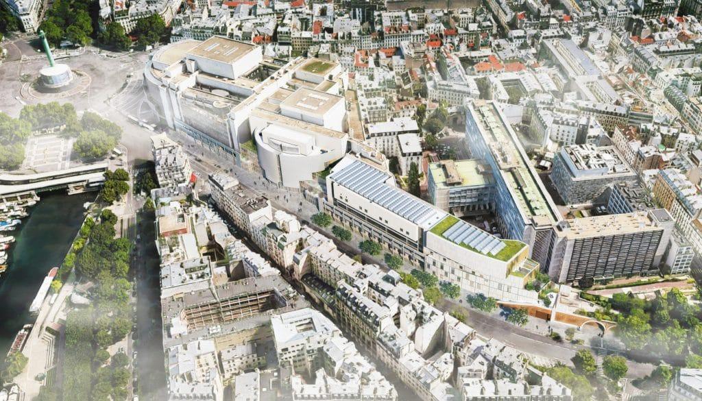 Paris Extension Opéra Bastille 2023