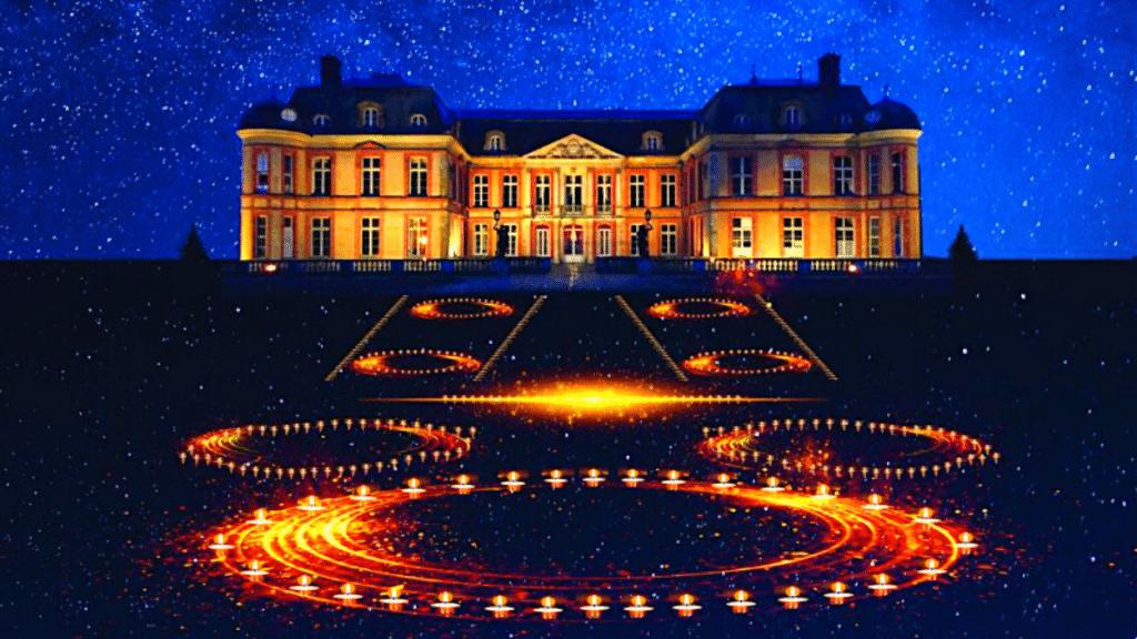 Nuit des Châteaux 2020 : Le Domaine de Dampierre en Yvelines illuminé par des milliers de bougies !