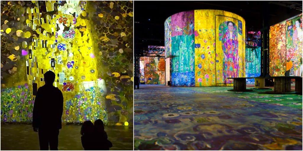 L'expo immersive Gustav Klimt de retour à l'Atelier des Lumières pour 11 nocturnes exceptionnelles !