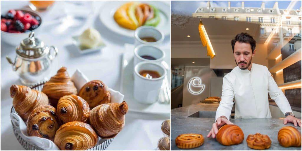Paris : un nouveau petit-déjeuner avec les viennoiseries signature de Cédric Grolet !