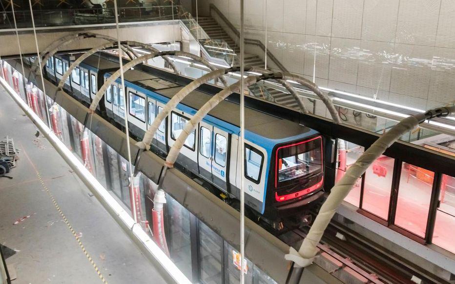 Paris : le plus grand métro de France entre en service ce lundi sur la Ligne 14 !