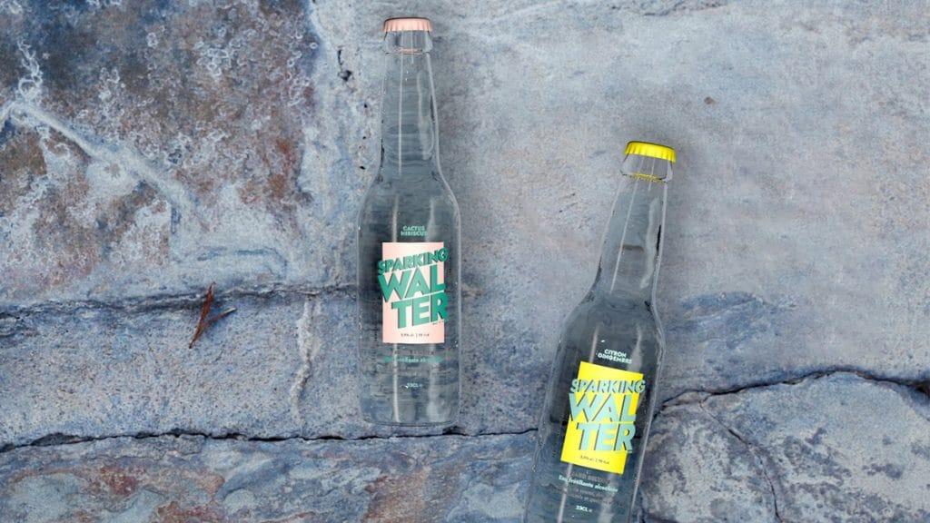 Sparking Walter : LA nouvelle eau frétillante d'alcool et d'eau fraîche !