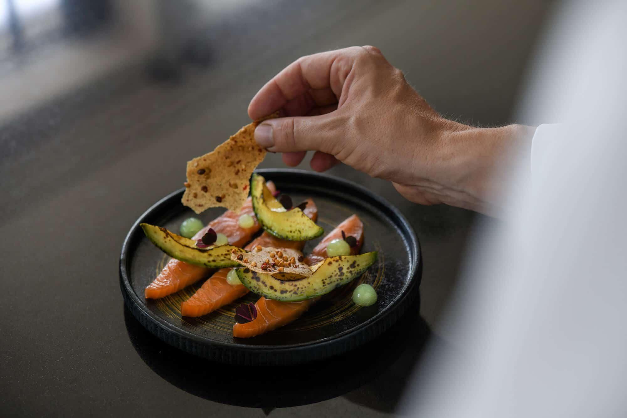 hotel molitor brasserie urbaine paris chef martin simolka food