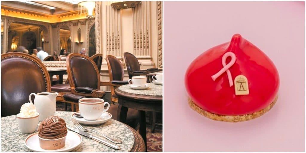 Octobre Rose : le mythique salon de thé Angelina crée une pâtisserie éphémère !