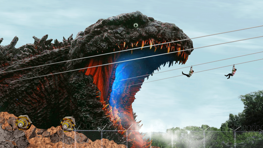 Insolite : une attraction avec une reproduction grandeur nature de Godzilla ouvre au Japon !