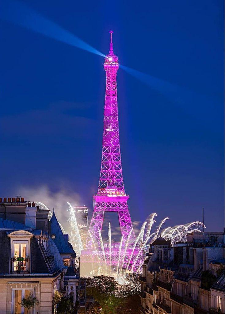 Octobre Rose 2020 Paris tour eiffel rose photos