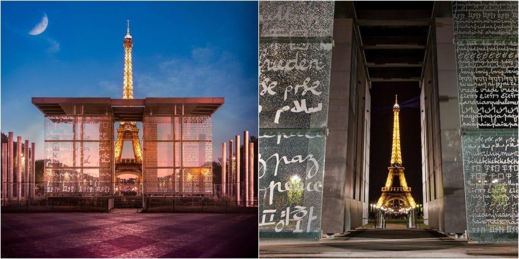 Paris : Installé depuis 20 ans sur le Champ de Mars, le Mur de la Paix va être déplacé !