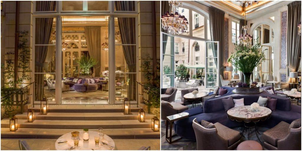 Paris Hôtel de Crillon tea time automne