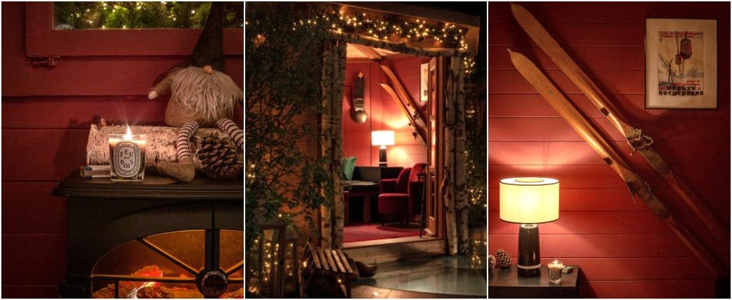 Le Petit Chalet chalet d'hiver éphémère Roch Hotel & Spa Paris 2020 raclette