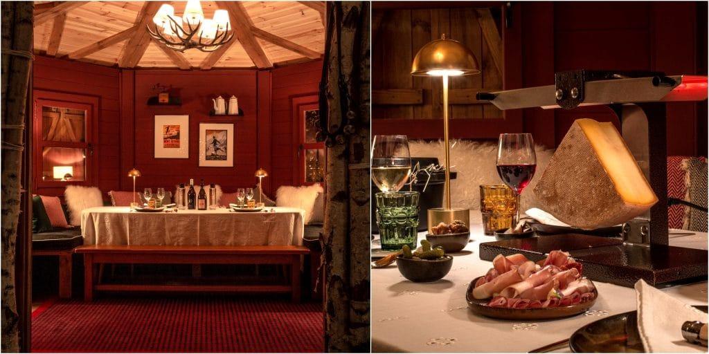 «Le Petit Chalet» : un splendide chalet d'hiver éphémère où la raclette est à l'honneur s'installe à Paris !