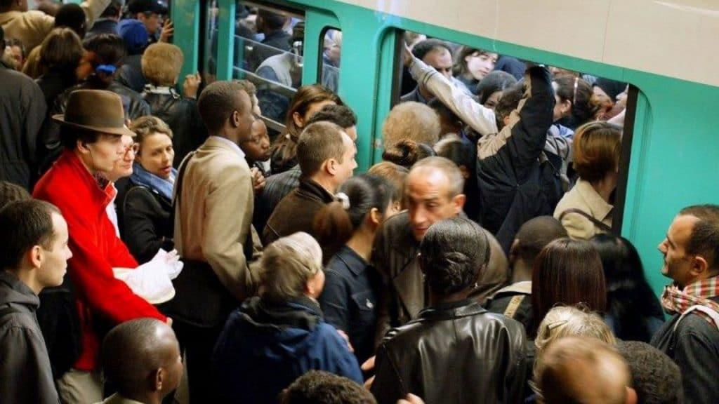 etude covid metro rer ratp stress ligne 13