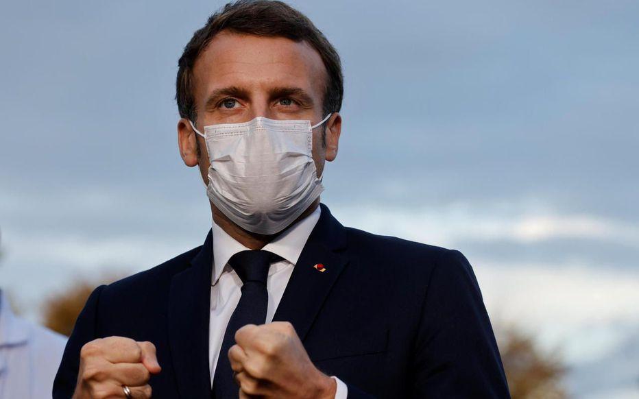 Paris reconfinement Macron