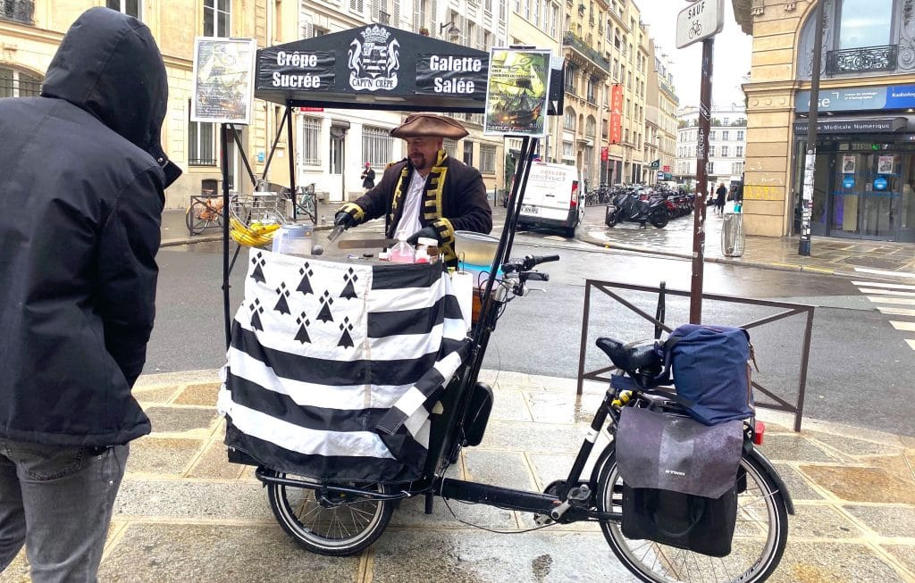 Capt'N Crêpe Vélo-truck crêpes bretonnes Paris