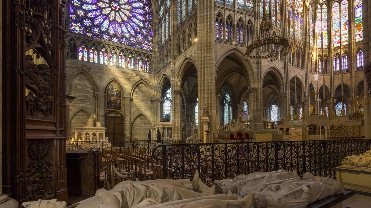 basilique saint denis paris histoire royale visite virtuelle