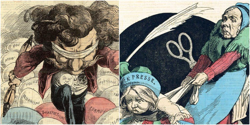 BnF hommage laïcité art de la caricature