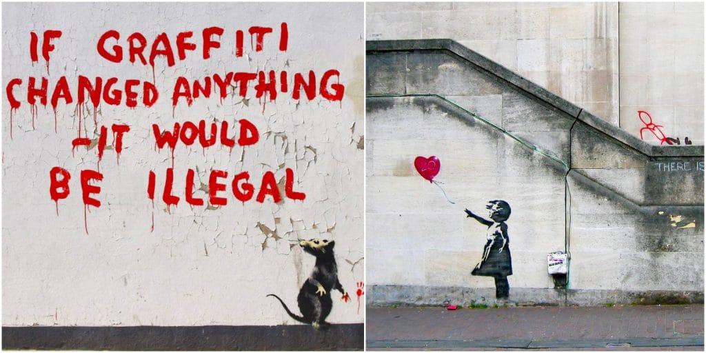 Visite virtuelle inédite Banksy