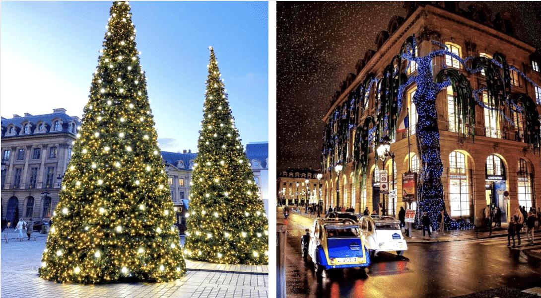 illuminations paris place vendome noel 2020